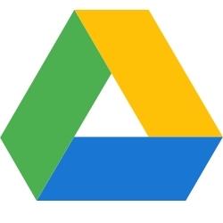 logo de l'application de stockage Google Drive